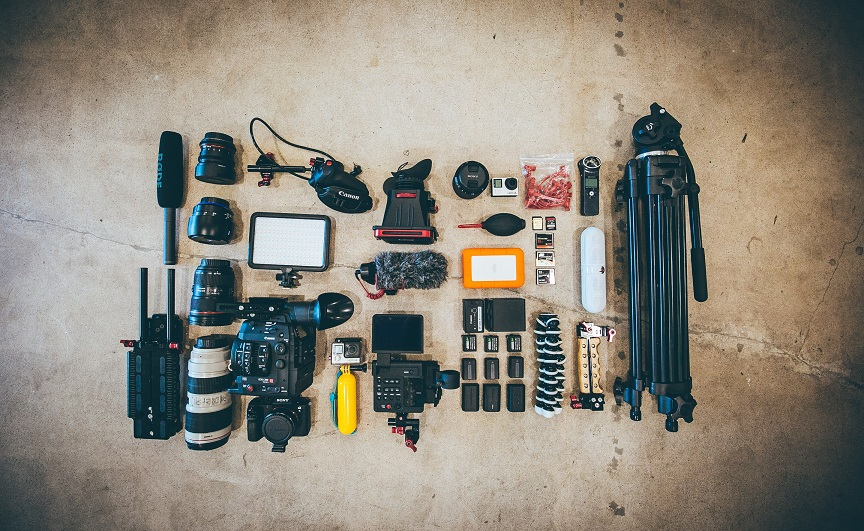materiales fotógrafos